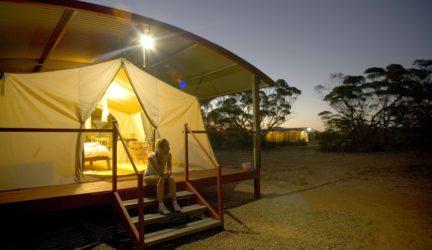 South Australia's Eyre – Kangaluna Camp – tents